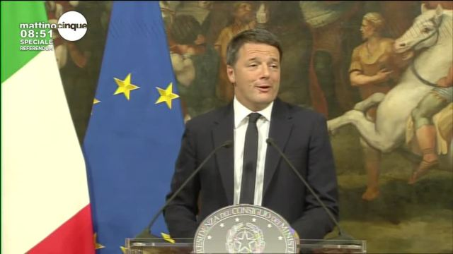Referendum: parla Renzi