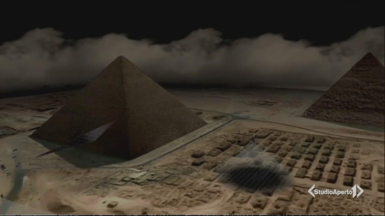 Una stanza segreta nella piramide