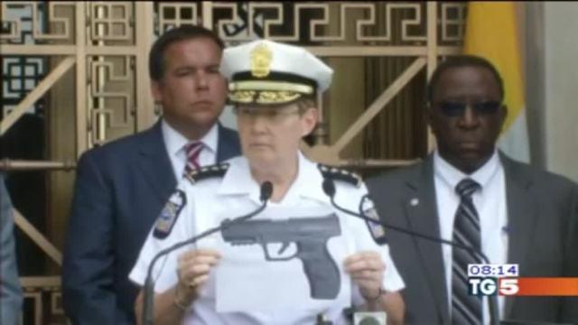 Pistola giocattolo, ucciso dalla polizia