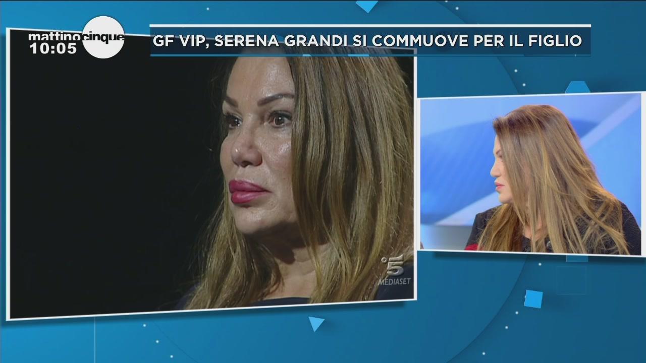 GF Vip 2: Serena Grandi ed Edoardo