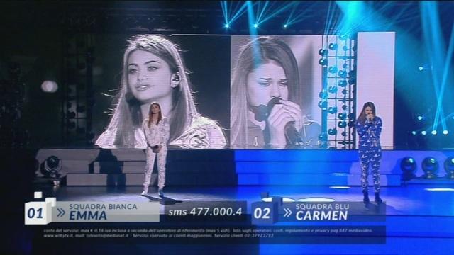 Prova Ritornelli – Carmen Vs. Emma – III Serale – 21 aprile
