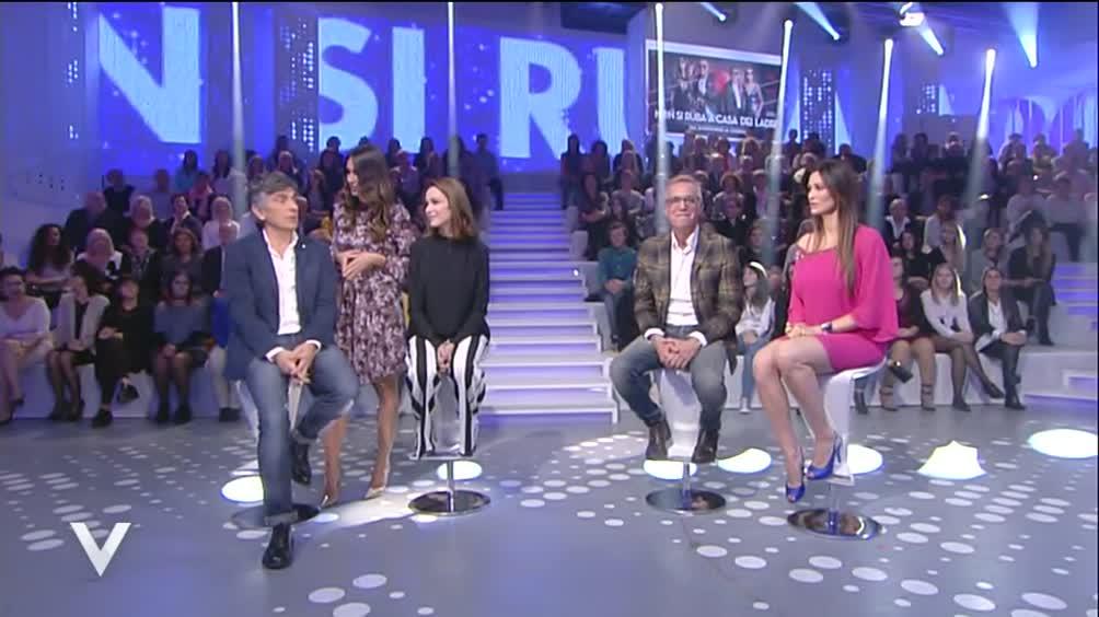 Vincenzo Salemme, Stefania Rocca, Manuela Arcuri e Massimo Ghini