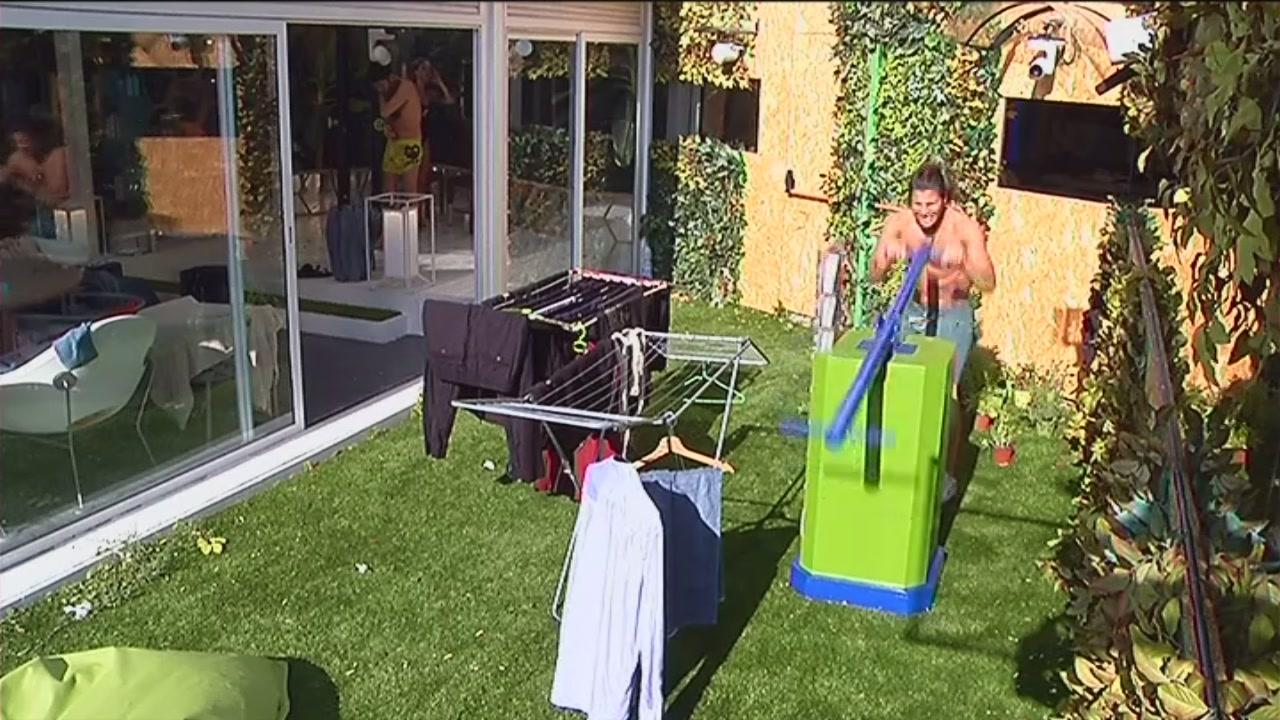 Luca fa attività fisica