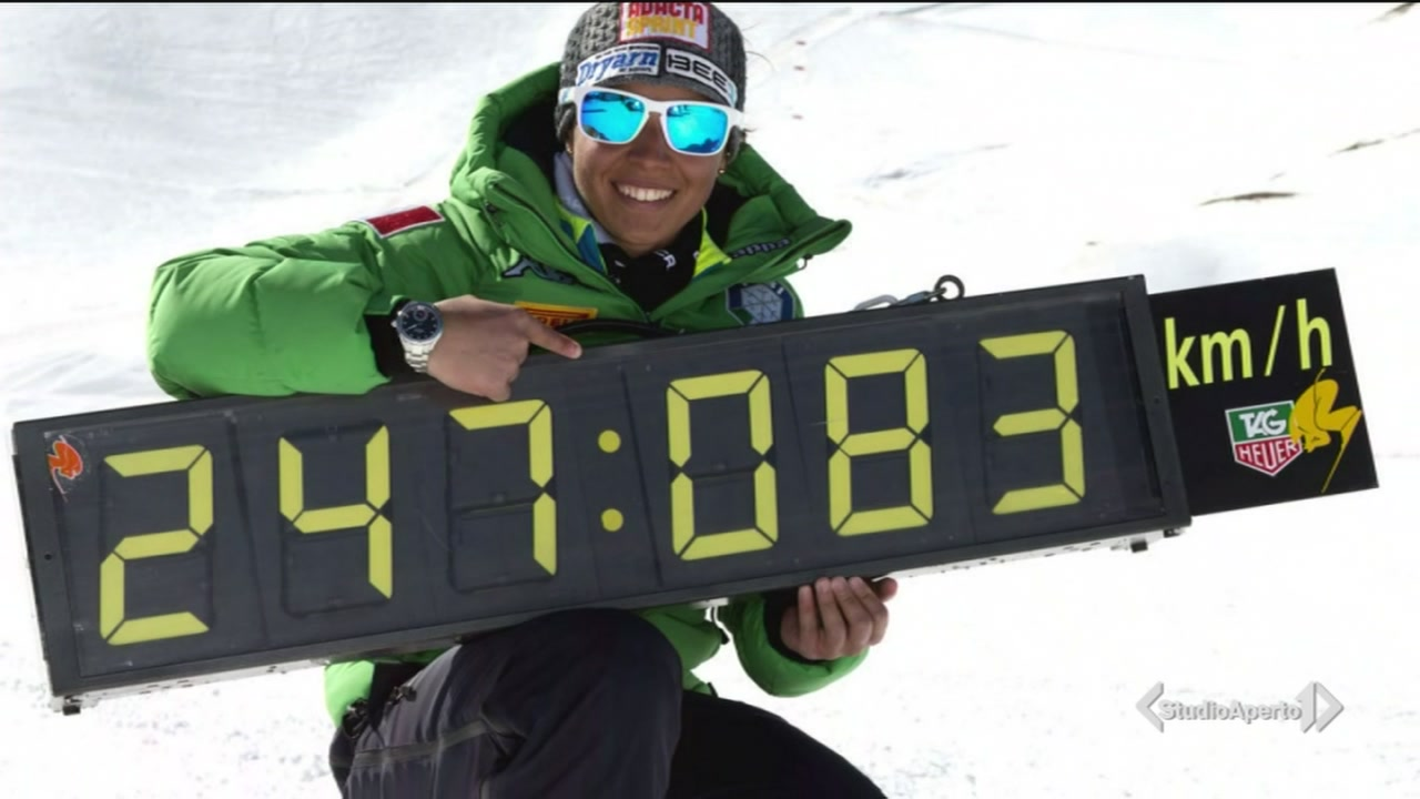 Record di velocità sugli sci