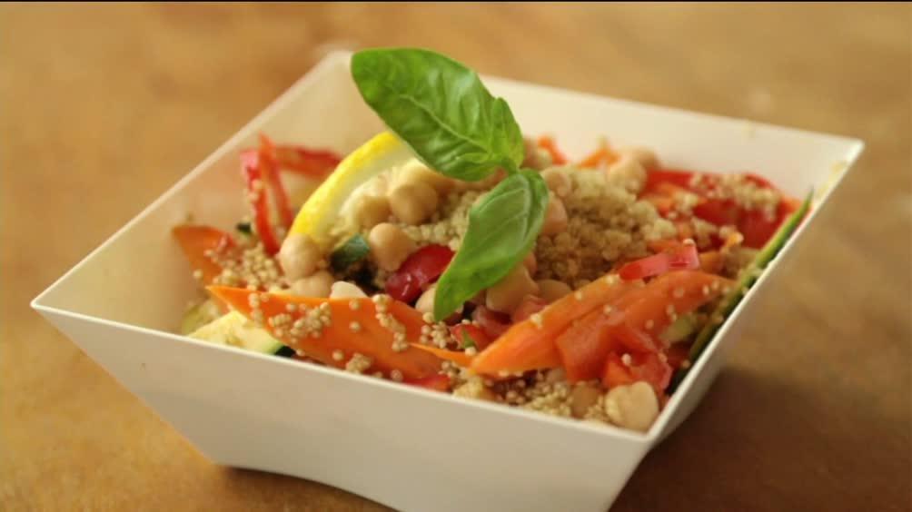Insalata di Quinoa con le verdure