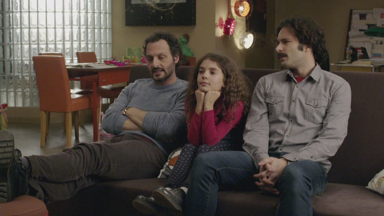 Francesco, Tommaso e… Tina