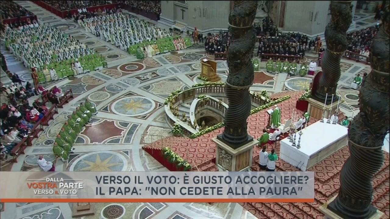 L'accoglienza secondo Matteo Salvini