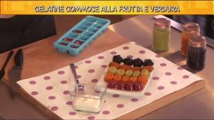 Gelatine gommose alla frutta e verdura