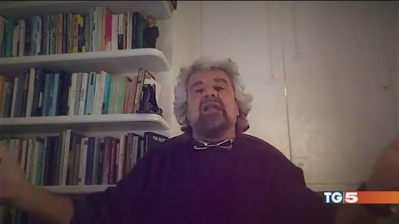 Grillo: basta fake-news, non lascio il Movimento