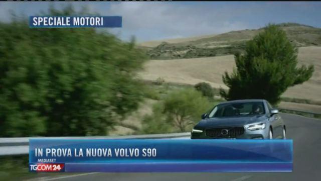 In prova la nuova Volvo S90