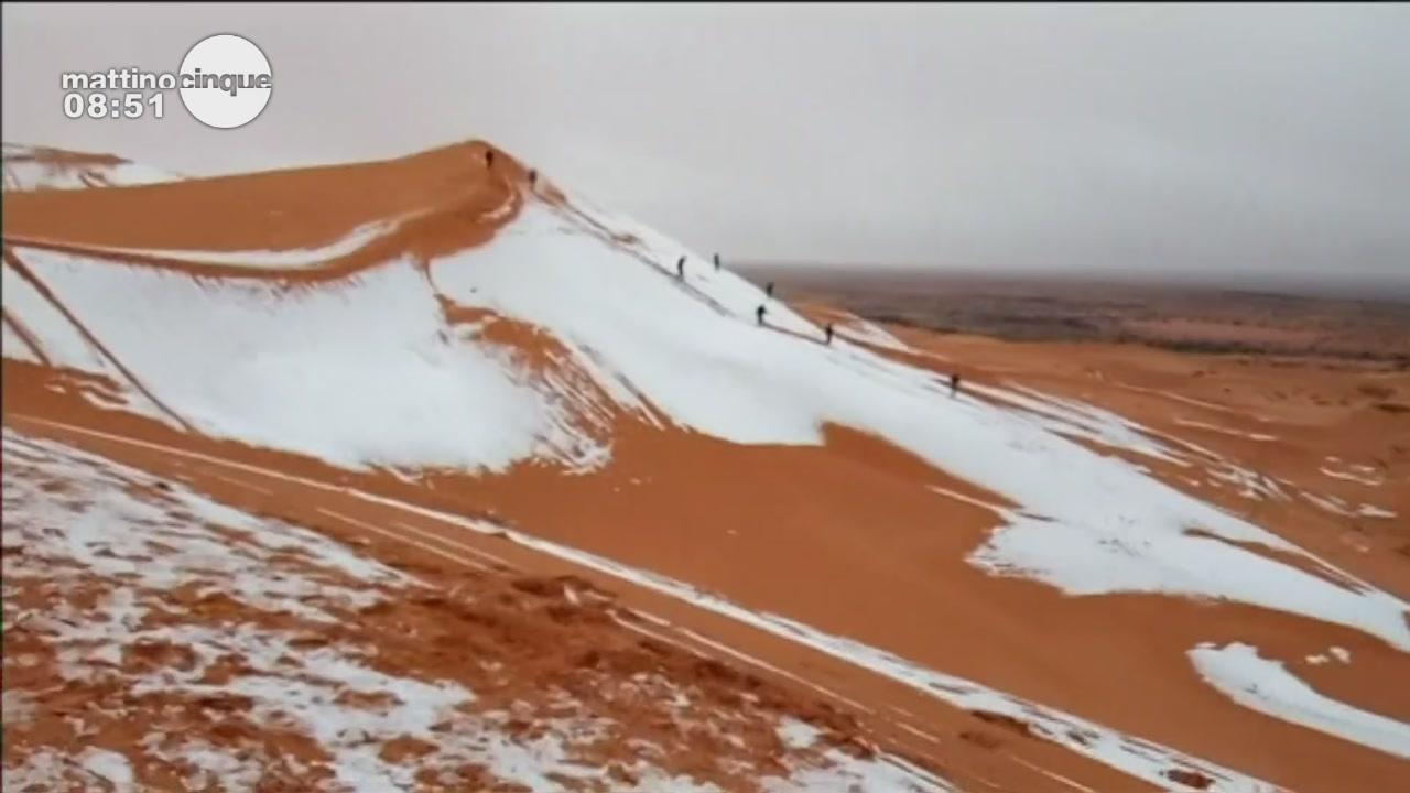 Neve nel deserto