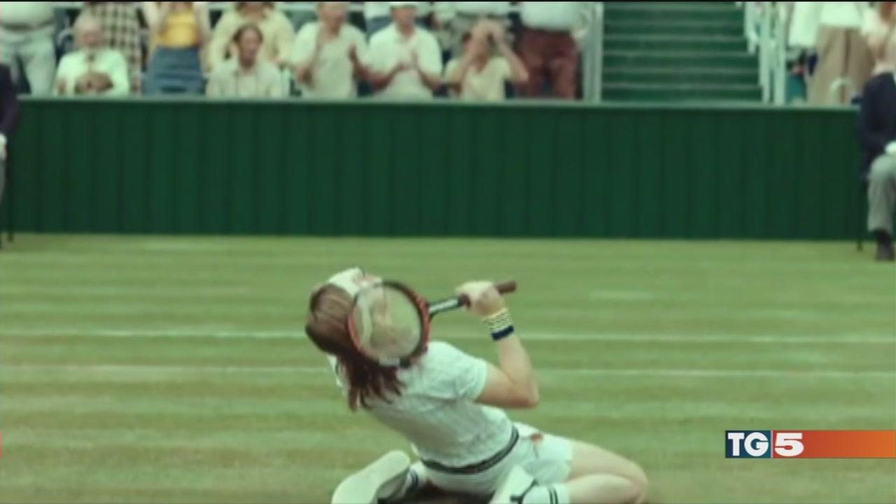 L'eterna rivalità del tennis arriva al cinema