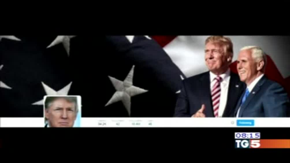 Trump cinguetta come un'aquila