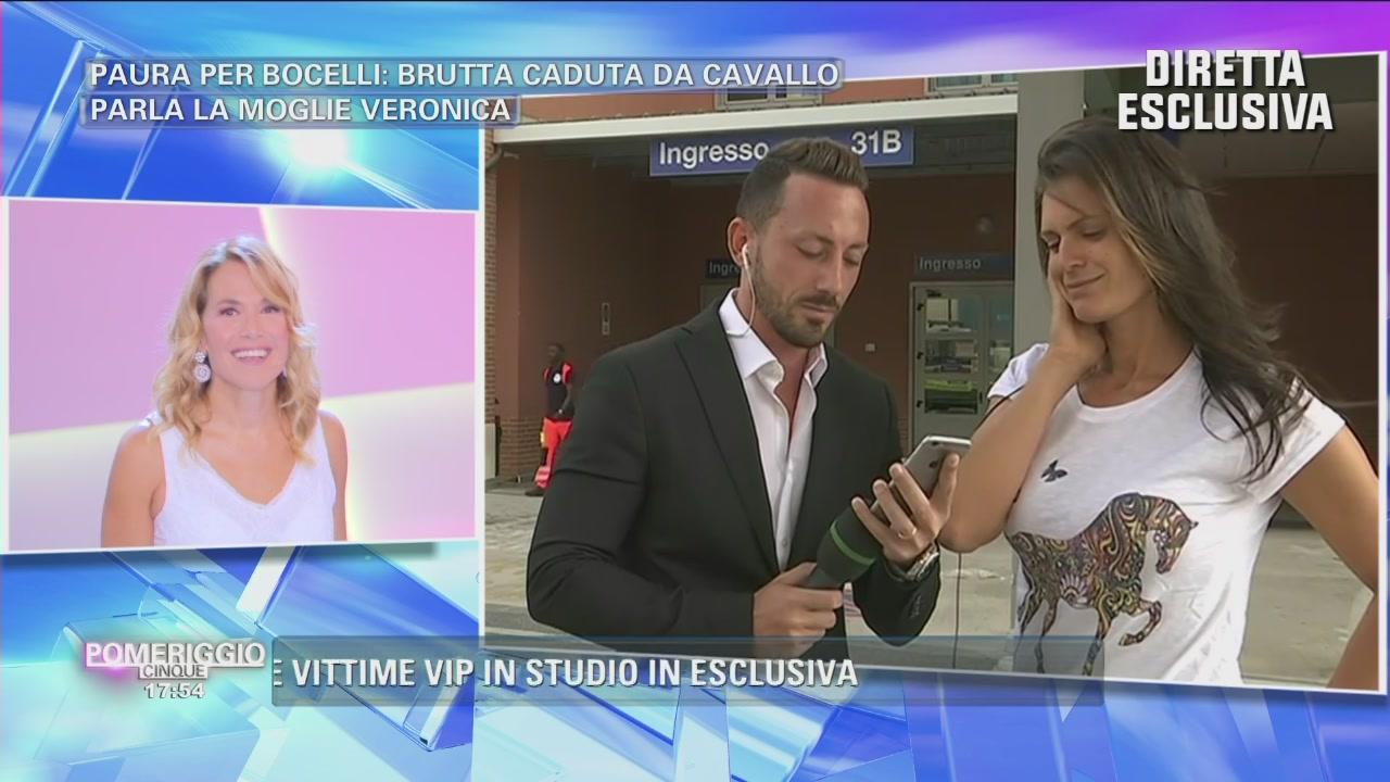 Andrea Boccelli: il messaggio vocale..