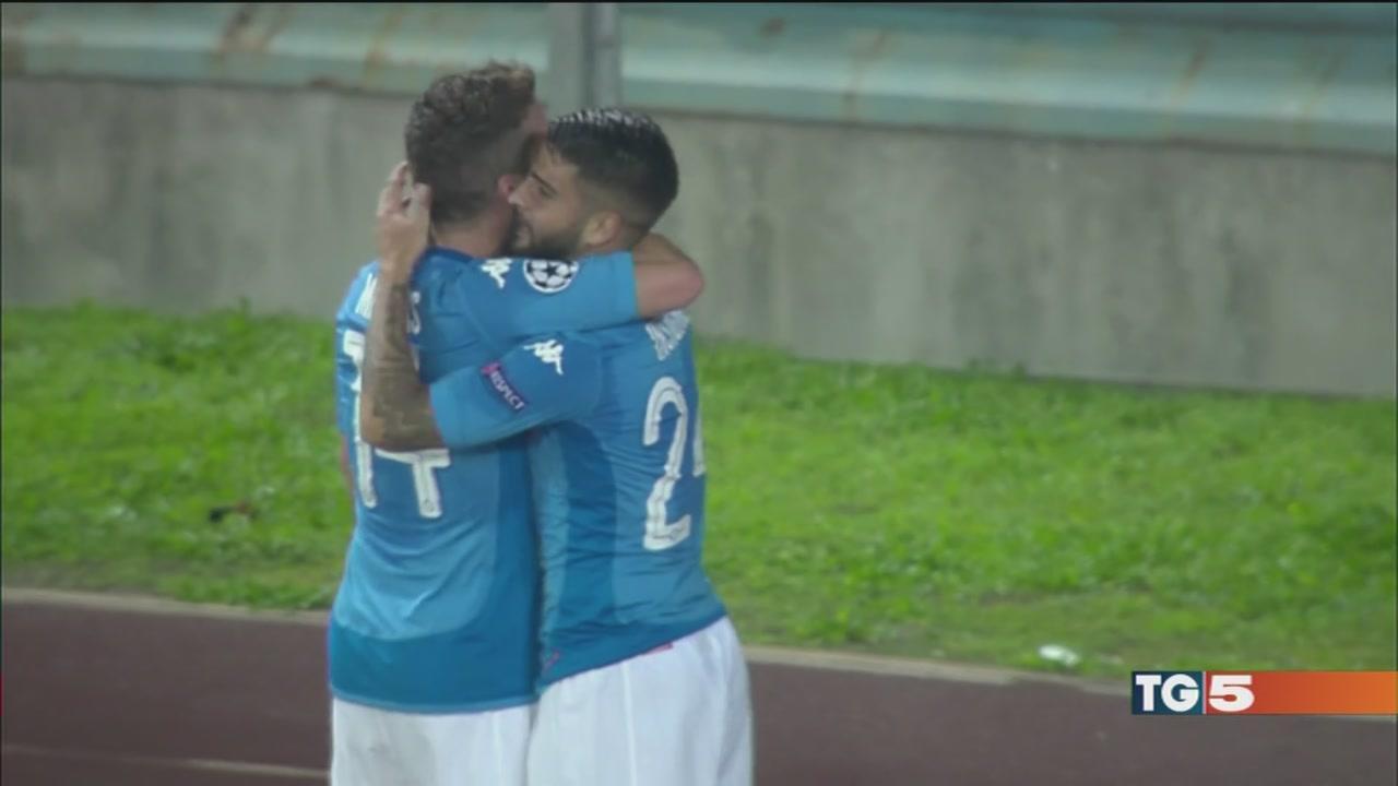 Napoli in Champions esclusiva su Canale 5