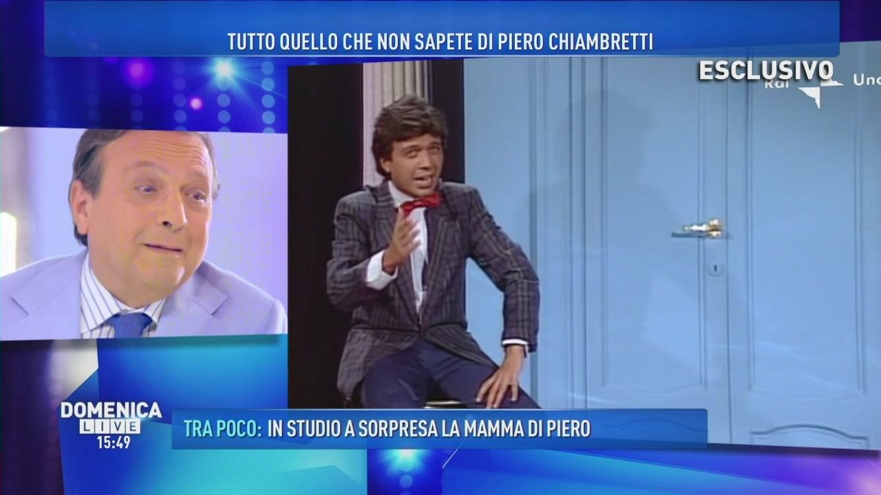 Gli esordi di Piero in tv