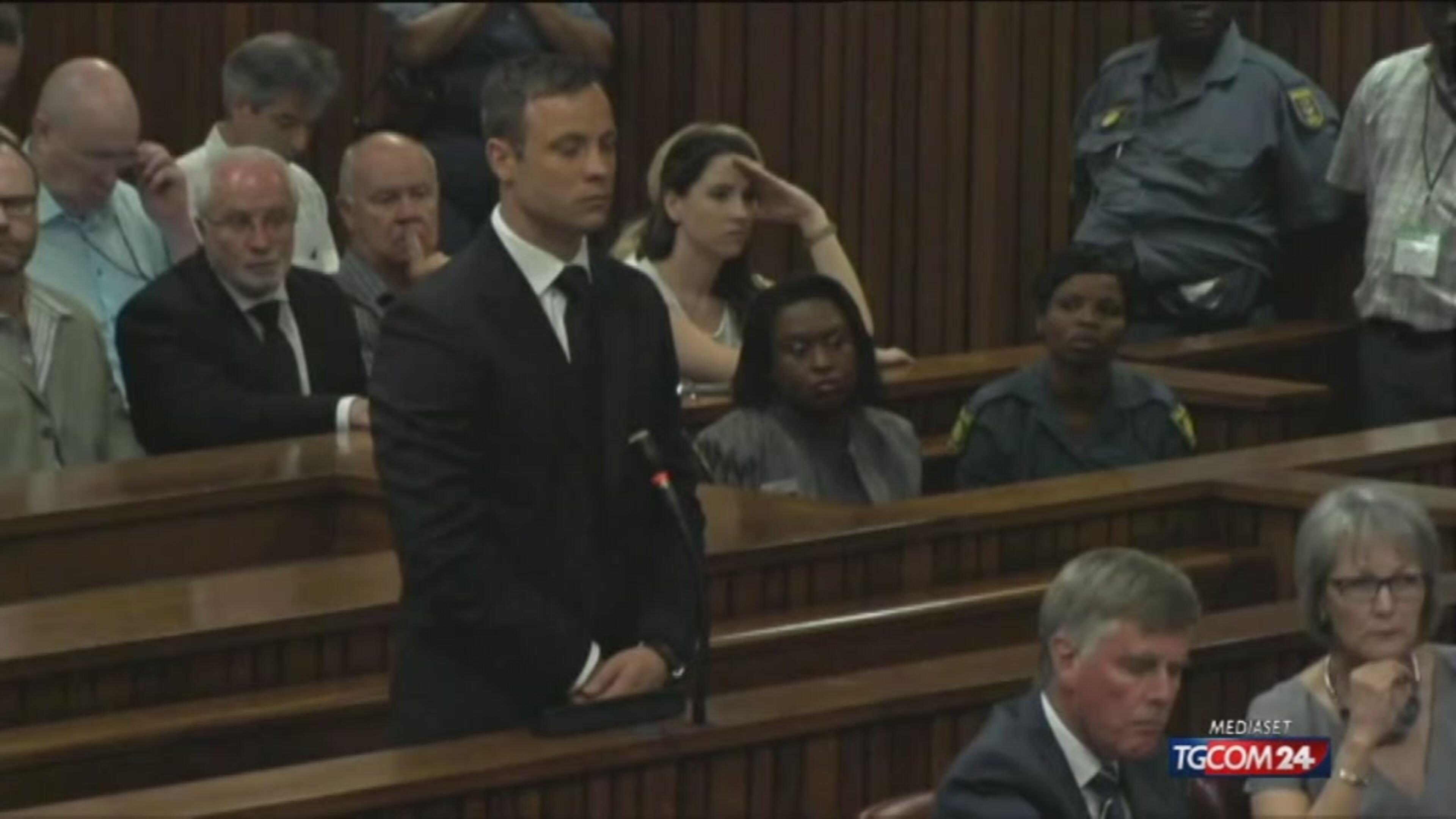 Pretoria, Pistorius condannato a 5 anni