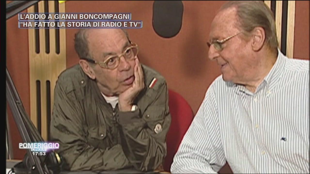 L'addio a Gianni Boncompagni