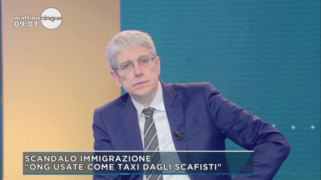 Mario Giordano sullo scandalo immigrazione