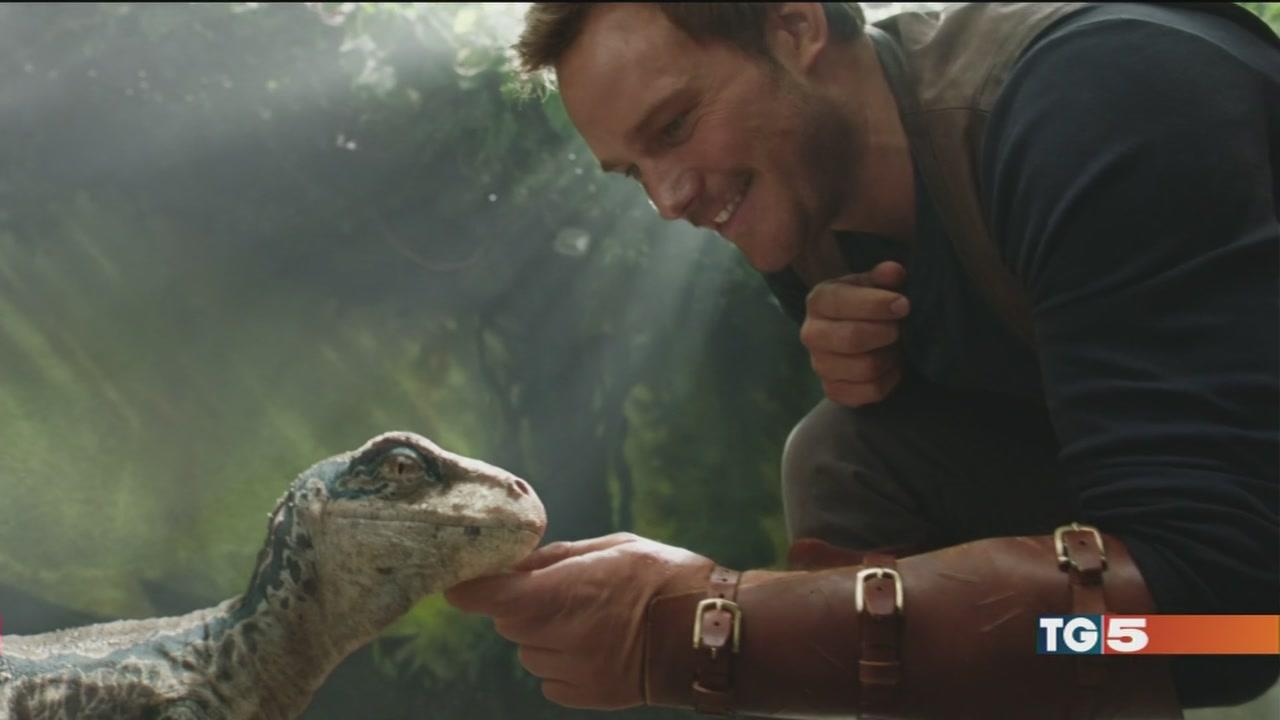 "Arriva nei cinema ""Jurassic World"""