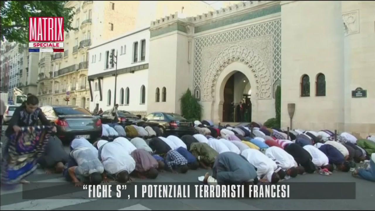 """Fische S"", i potenziali terroristi francesi"