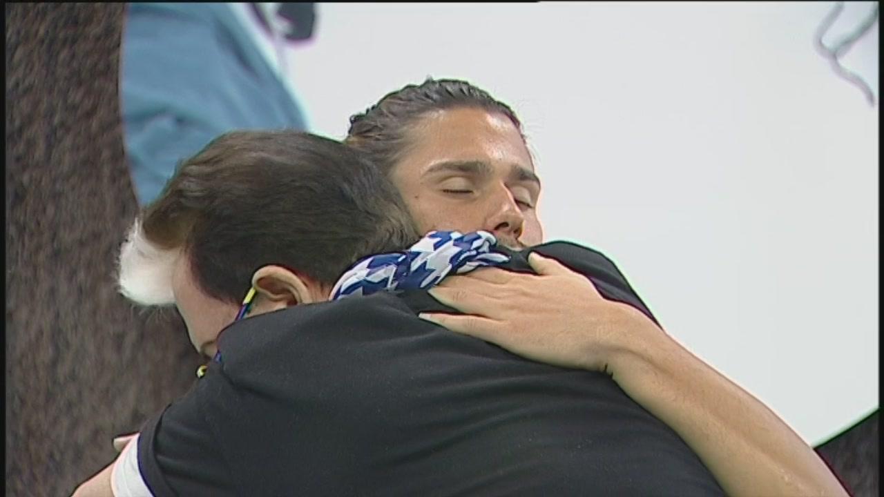 Un abbraccio consolatorio