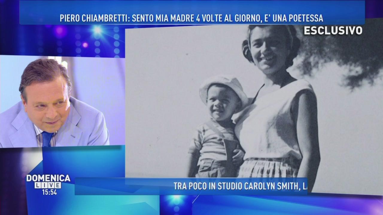 Piero Chiambretti: Mia madre è una poetessa