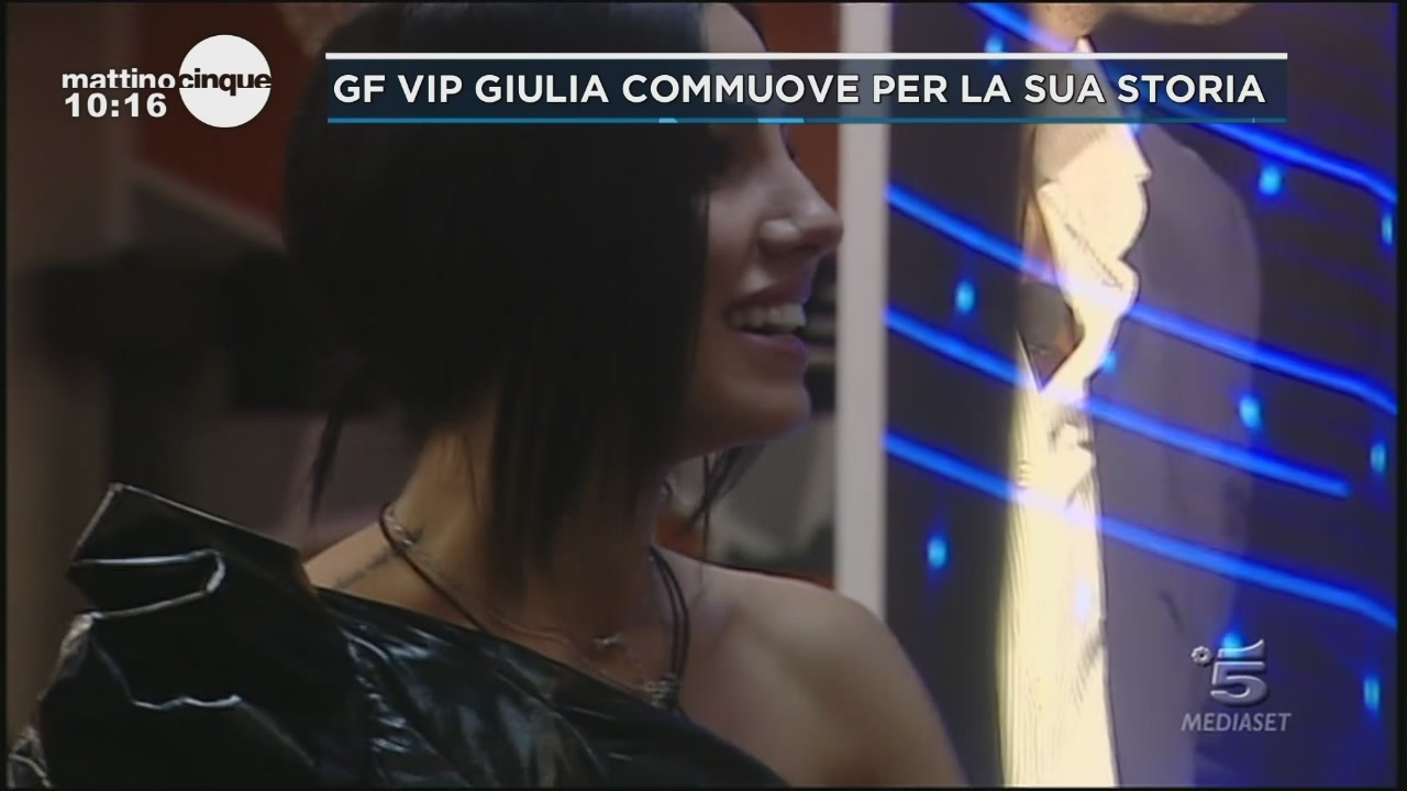 GF Vip: Giulia e la sua storia