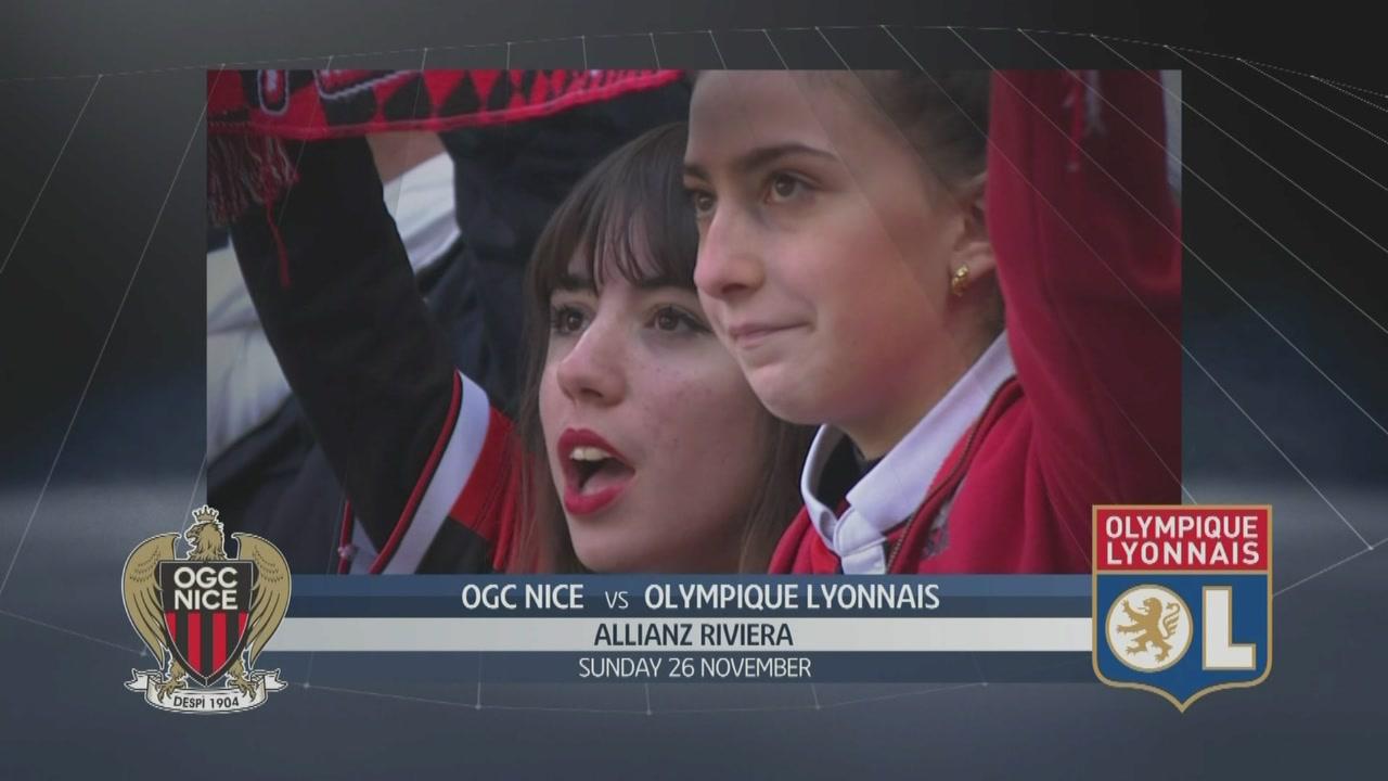 OGC Nice-Olympique Lyonnais 0-5