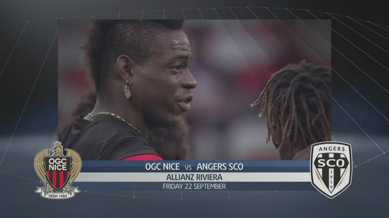 Nizza - Angers 2-2