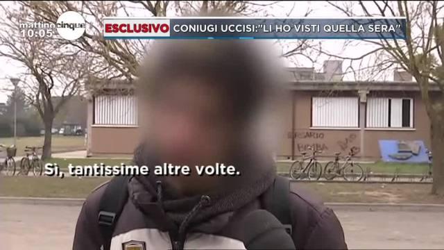 Coniugi uccisi a Ferrara: 'Li ho visti quella sera'