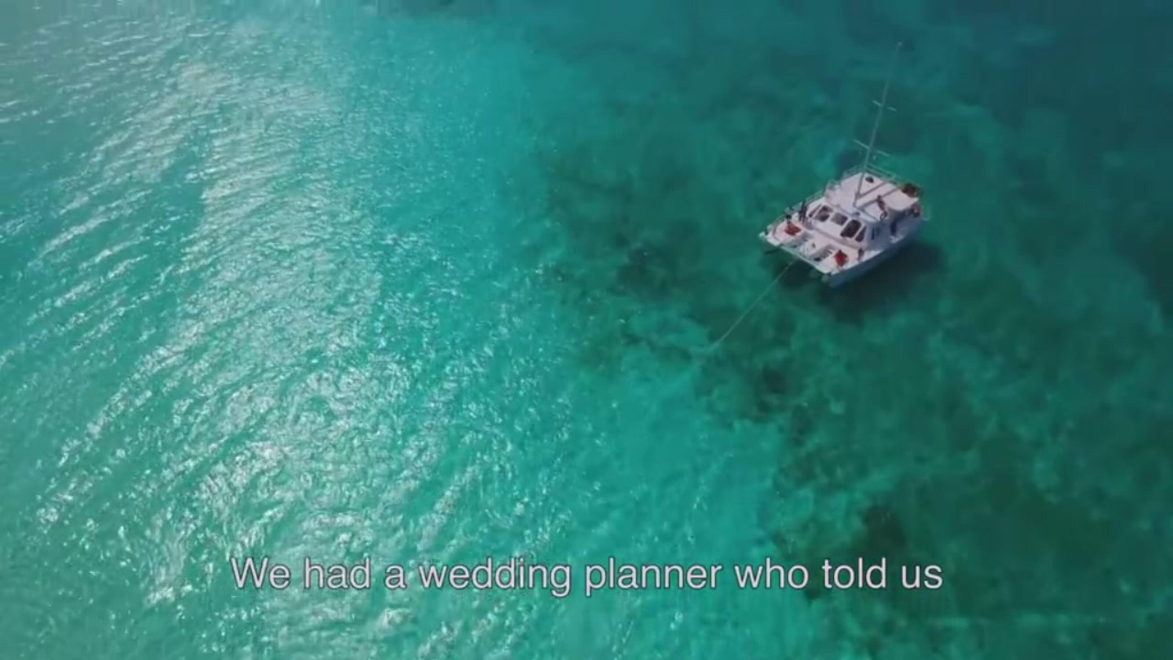 Il matrimonio impossibile s'ha da fare: il Sì degli sposi-sirena nel Mar dei Caraibi