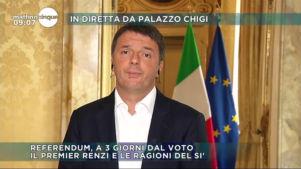 Matteo Renzi: perché votare SI'