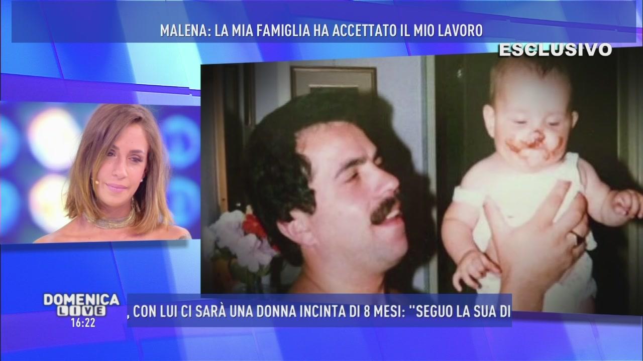 Malena ed il rapporto con suo padre.