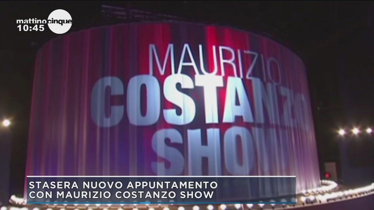 Stasera nuovo appuntamento con Maurizio Costanzo Show