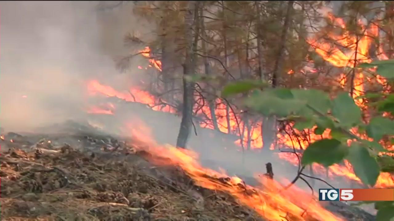 Frane, allagamenti, incendi: è emergenza