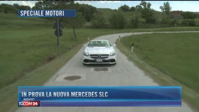 In prova la nuova Mercedes SLC