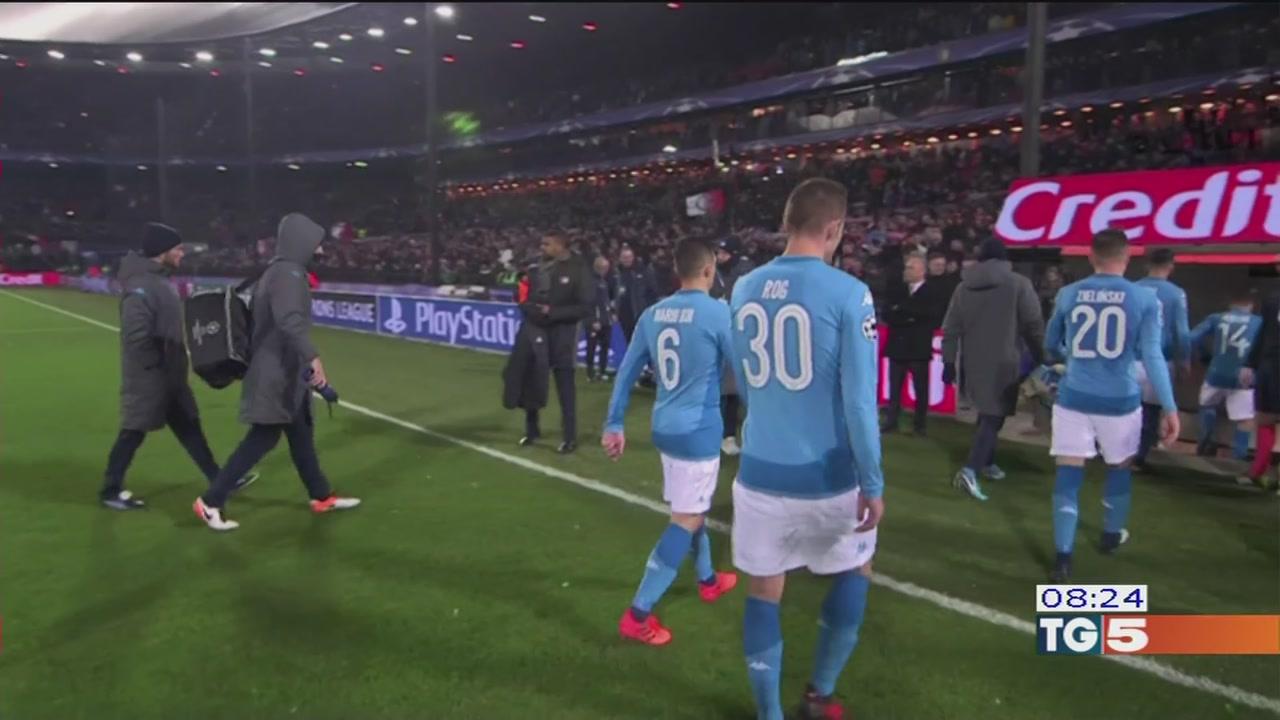 Napoli sconfitto Addio alla Champions