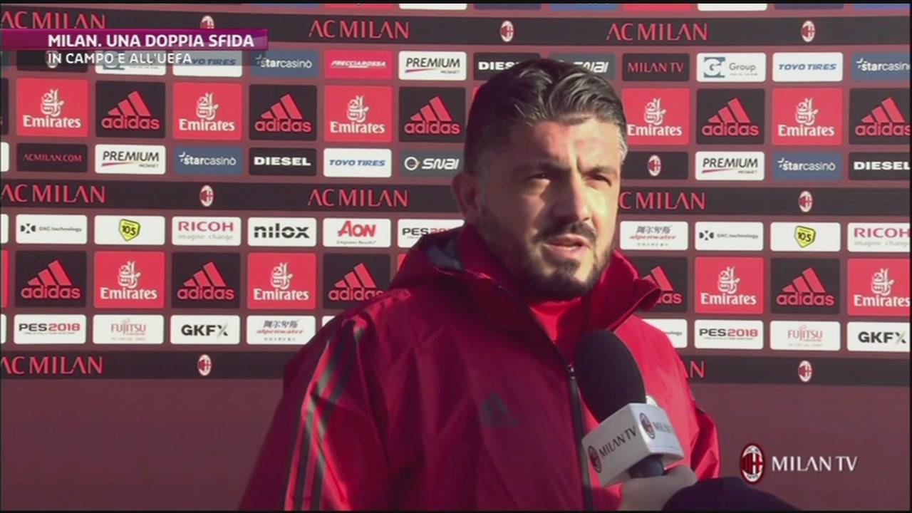 Gattuso fa correre il Milan