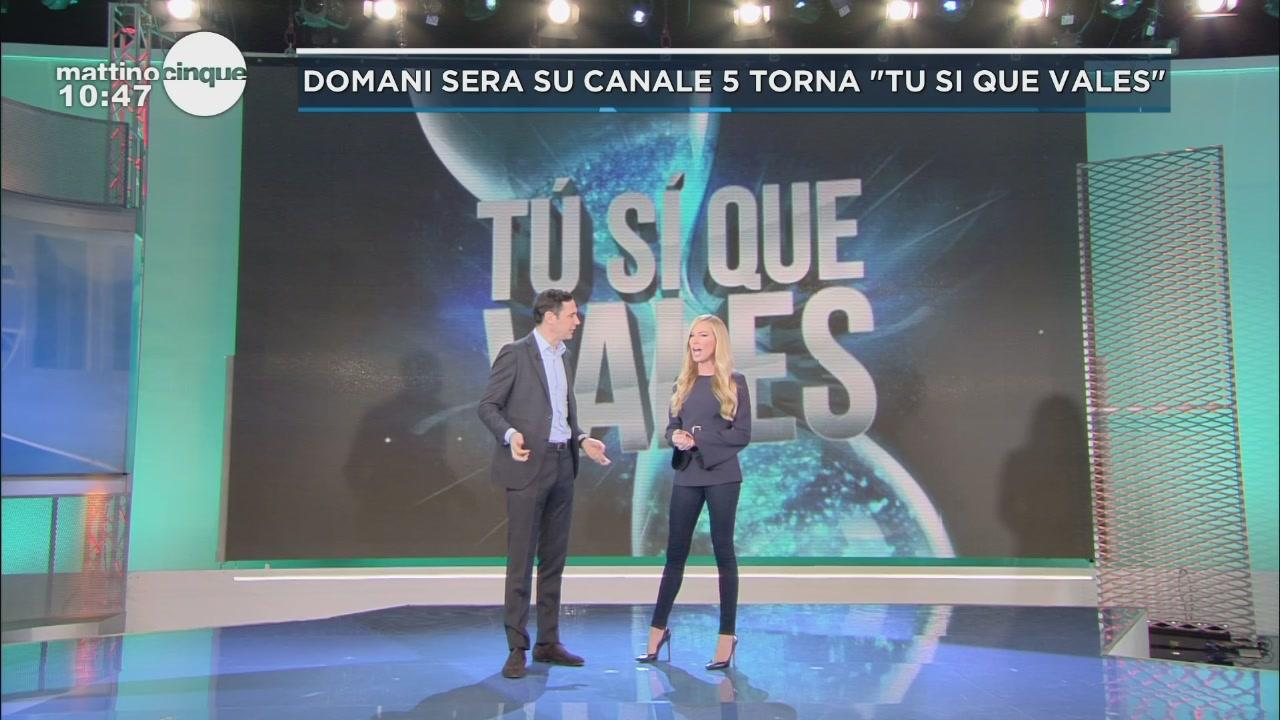 """Domani sera su Canale 5 torna """"Tu si que vales"""""""