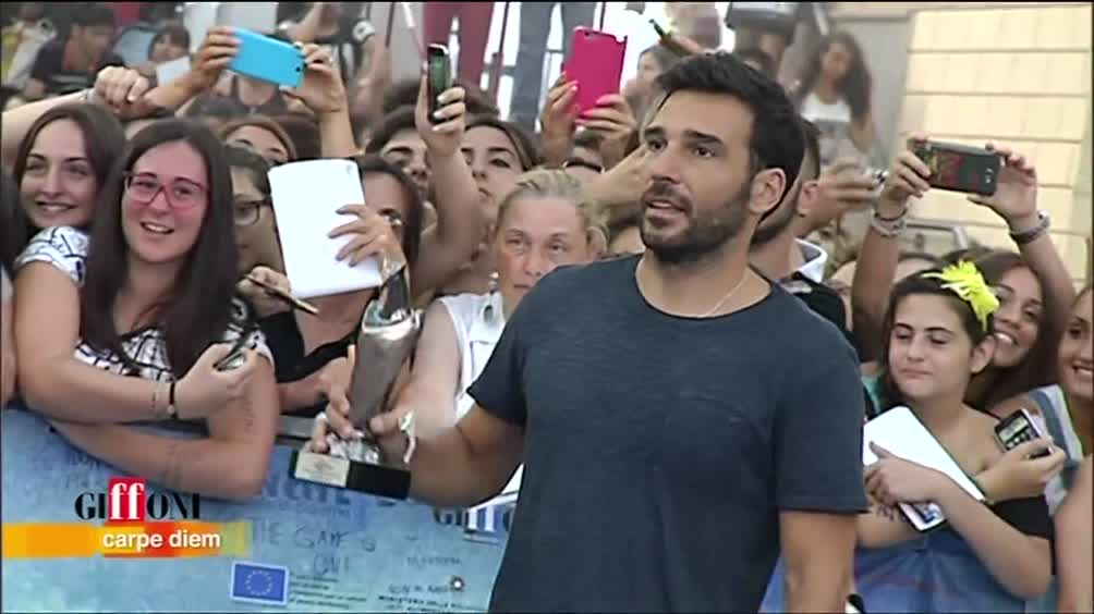 Edoardo Leo e Darren Criss a Giffoni