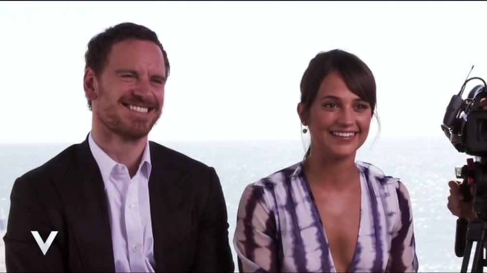 Michael Fassbender ed Alicia Vikander