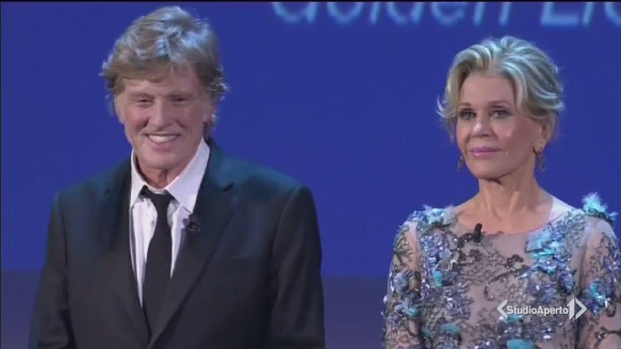 Robert Redford e Jane Fonda, protagonisti a Venezia