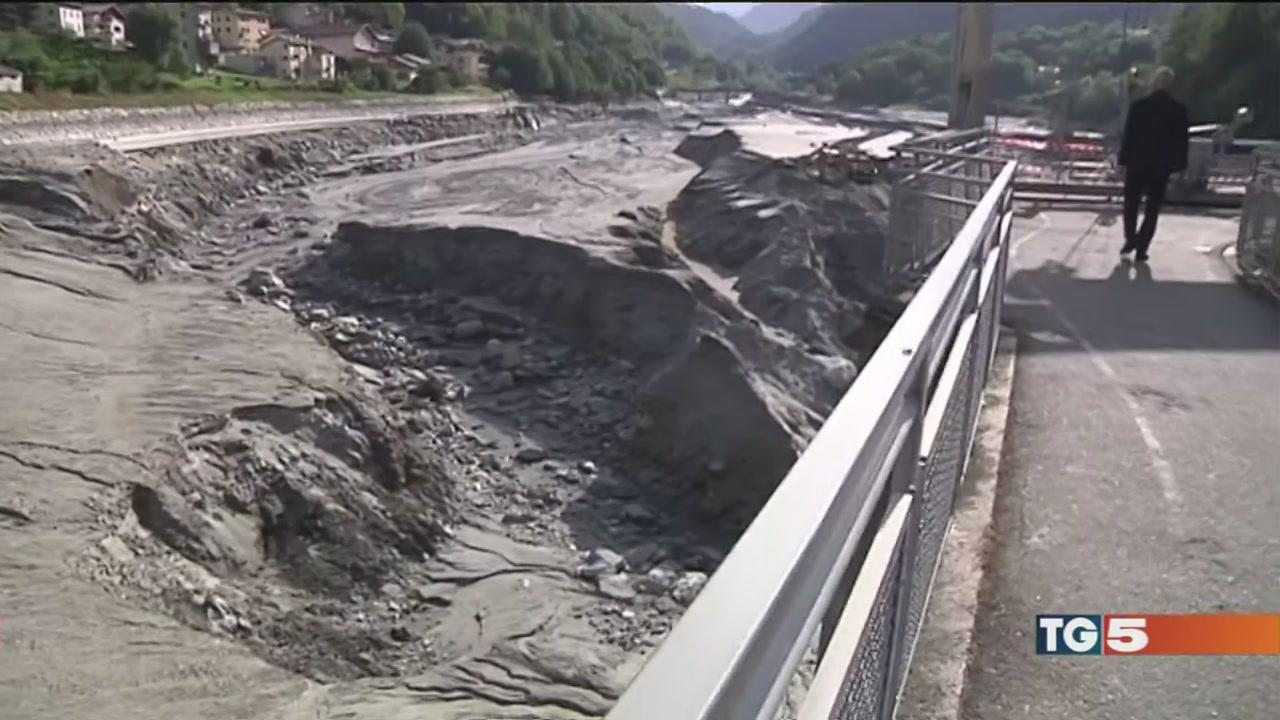 La frana ora minaccia anche la Val Chiavenna