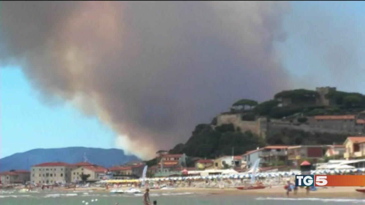 Caldo e siccità l'Italia brucia