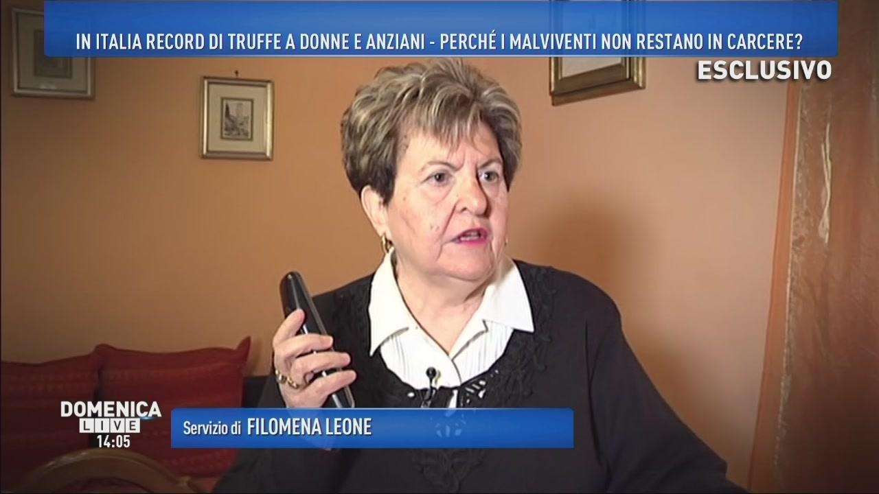 In Italia record di truffe a donne e anziani