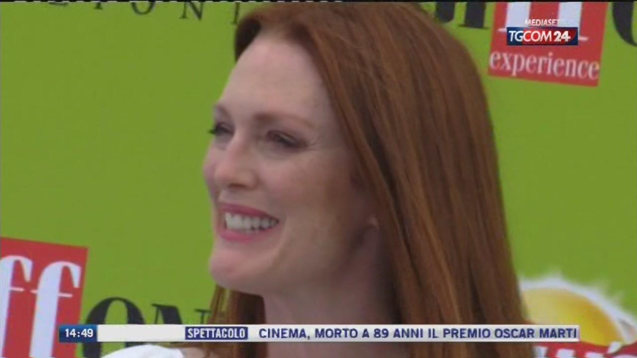 Julianne Moore acclamatissima al Giffoni Film Festival