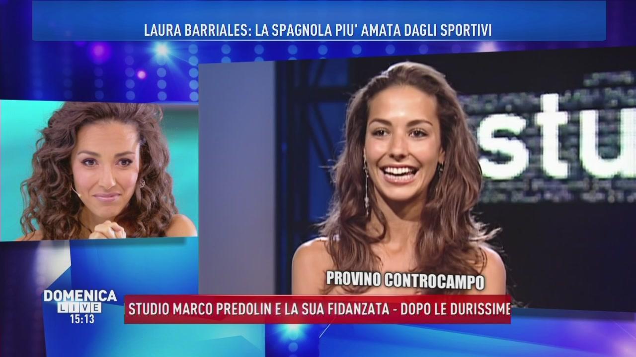 Il provino di Laura Barriales per Controcampo