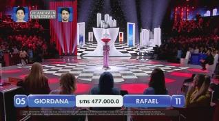 Giordana vs Rafael – Chi andrà in finalissima? – V esibizione