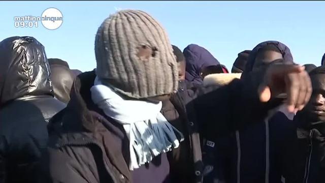 La rivolta dei migranti di Cona